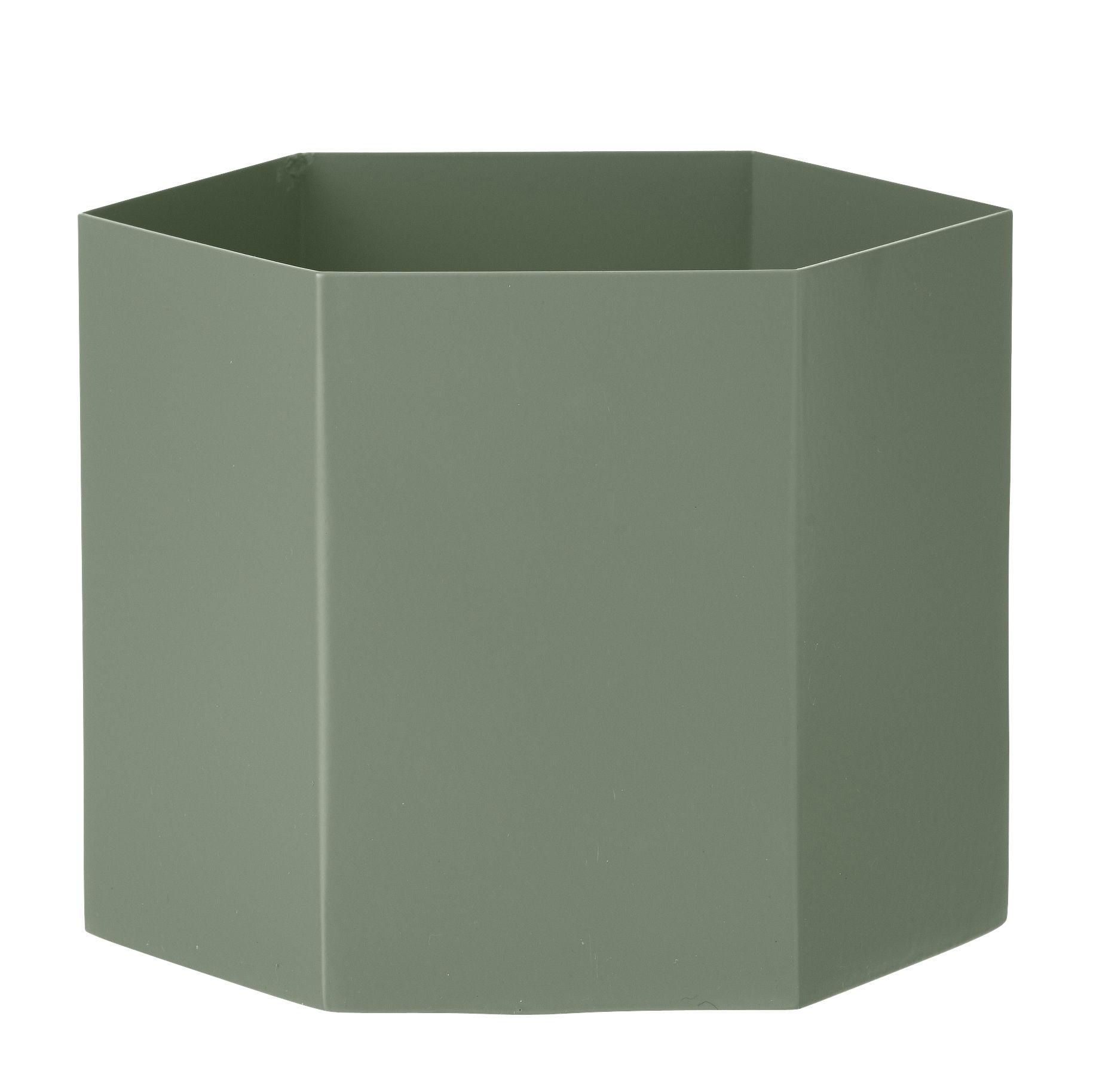 hexagon xl large 18 cm ferm living blumentopf. Black Bedroom Furniture Sets. Home Design Ideas