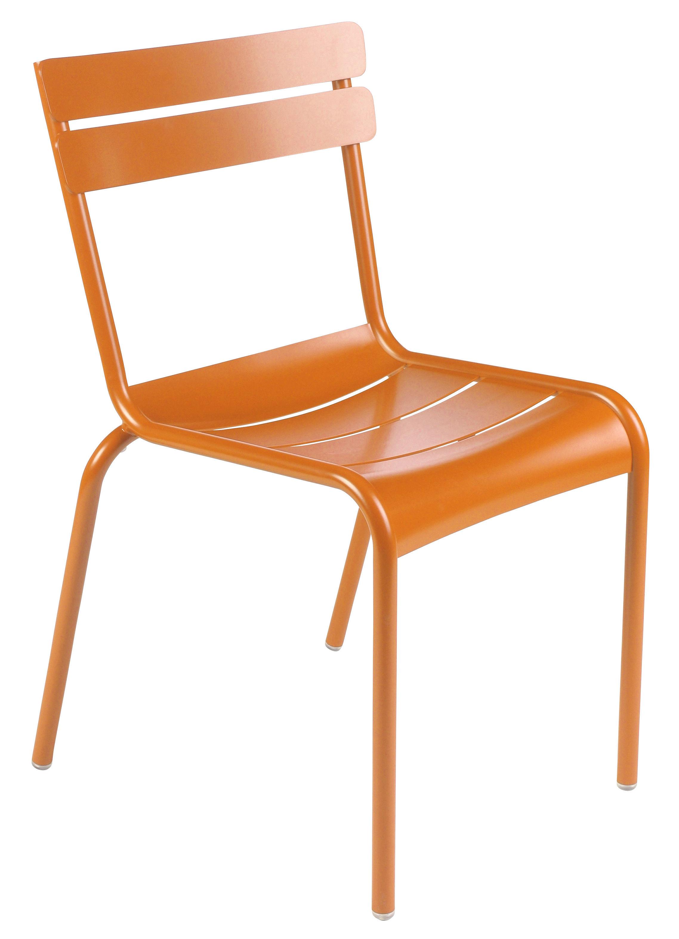 chaise enfant luxembourg kid aluminium carotte fermob. Black Bedroom Furniture Sets. Home Design Ideas