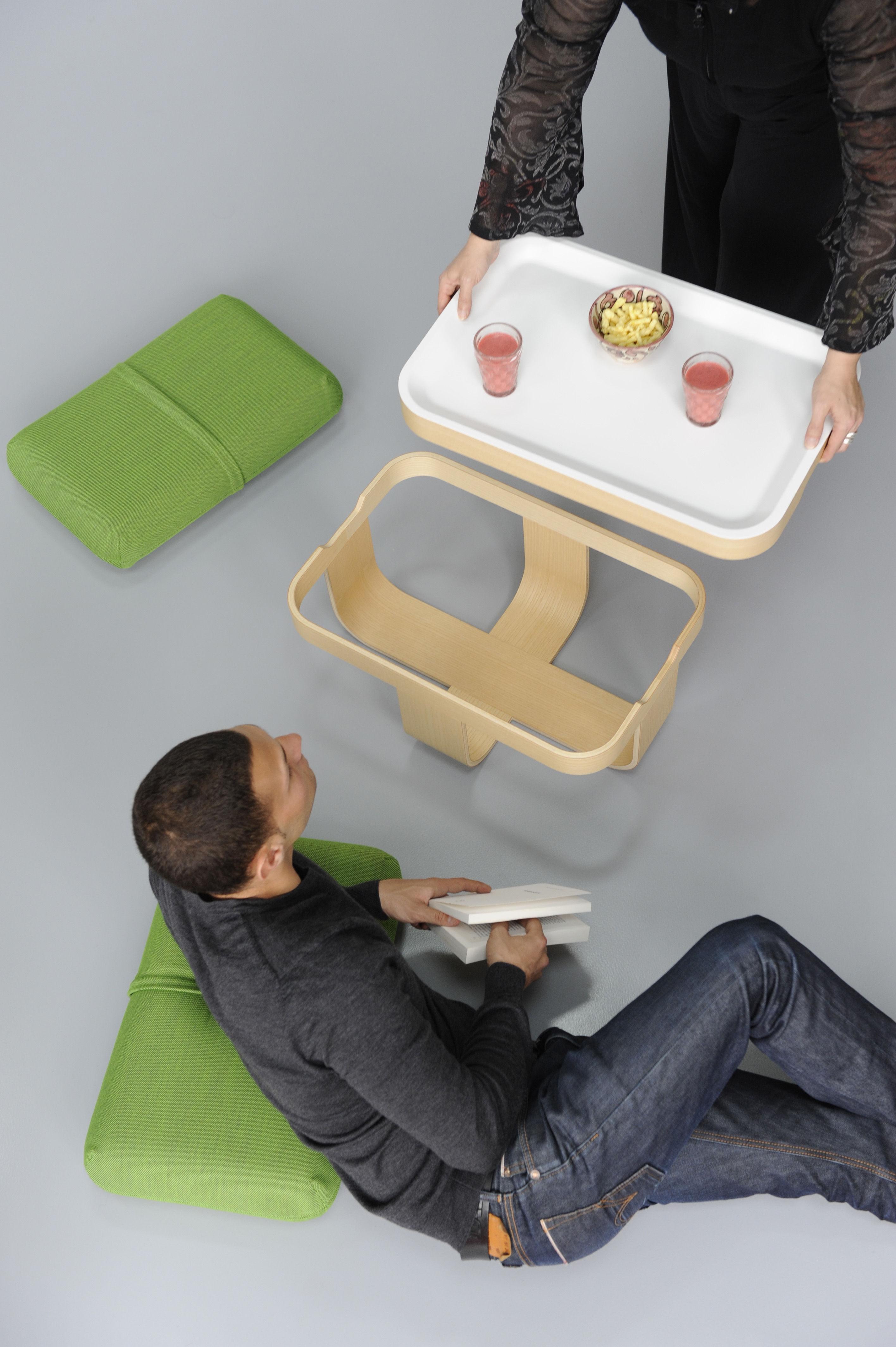mister t couchtisch auch als hocker oder fu ablage einsetzbar gr n by made in design editions. Black Bedroom Furniture Sets. Home Design Ideas