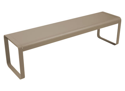 Banc Bellevie / L 161 cm - 4 places - Fermob muscade en métal