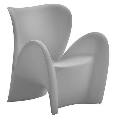 Poltrona Lily di MyYour - Grigio chiaro opaco - Materiale plastico