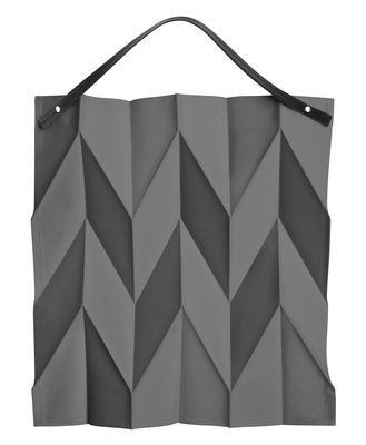 Sac Iittala X Issey Miyake Tissu Cuir Iittala noir,gris foncé en tissu