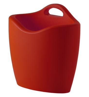 Porte-revues Mag - Slide rouge en matière plastique