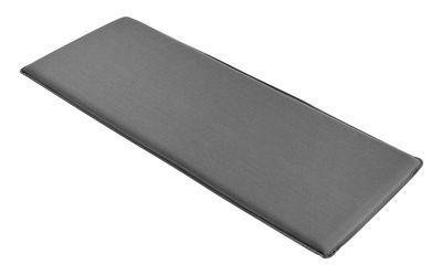 Galette d´assise / Pour banc avec dossier Palissade - Hay gris anthracite en tissu