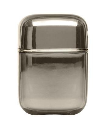 Bougie parfumée Oyster / Kartell Frangrances - H 19 cm - Kartell fumé en matière plastique