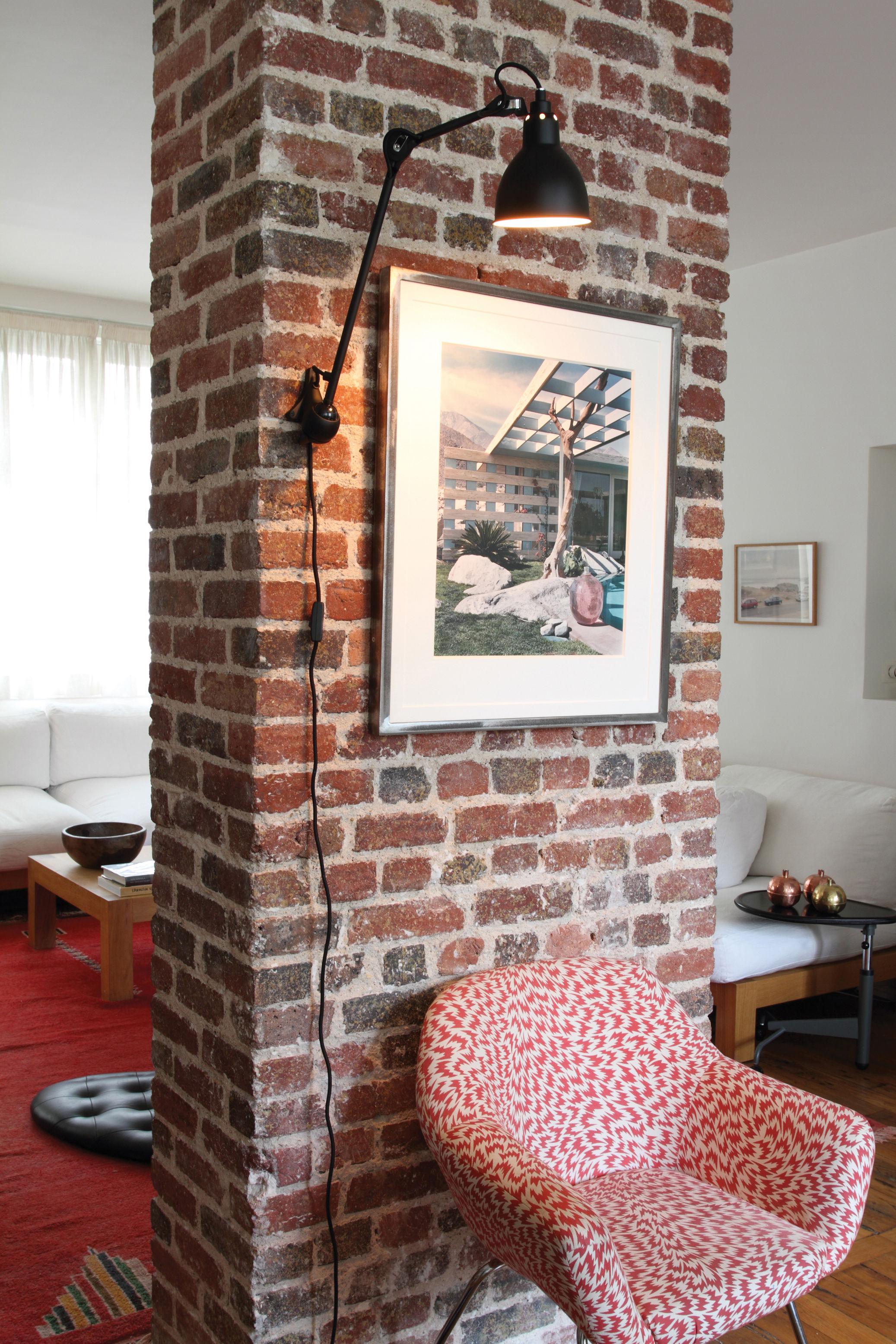 applique n 222 lampe gras noir satin mat dcw ditions made in design. Black Bedroom Furniture Sets. Home Design Ideas