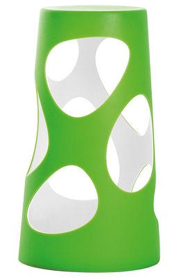Foto Lampada Liberty Light - LED H 46 cm di MyYour - Verde - Materiale plastico