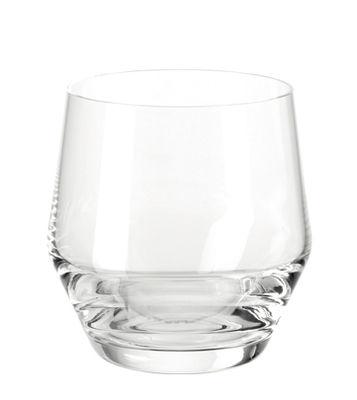 Arts de la table - Verres  - Verre à whisky Puccini / H 8,7 cm - Leonardo - Transparent - Verre Teqton