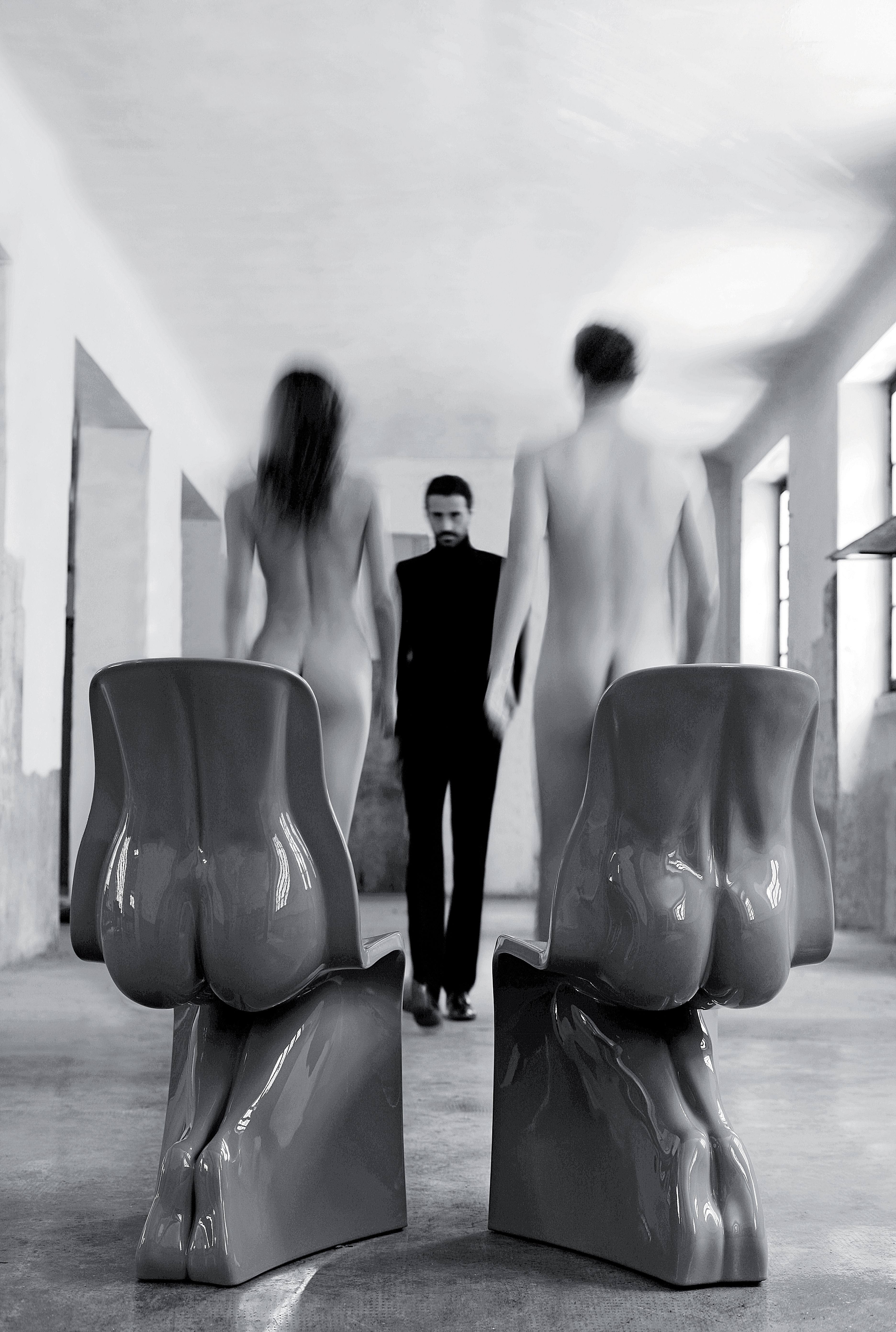 Her chair plastic white by casamania for Fabio novembre