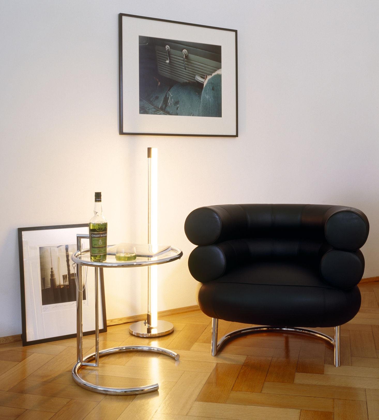 fauteuil rembourr bibendum cuir noir classicon. Black Bedroom Furniture Sets. Home Design Ideas
