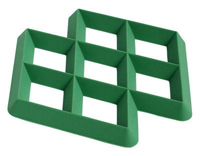 Dessous de plat Rhom / Silicone - Hay vert en matière plastique