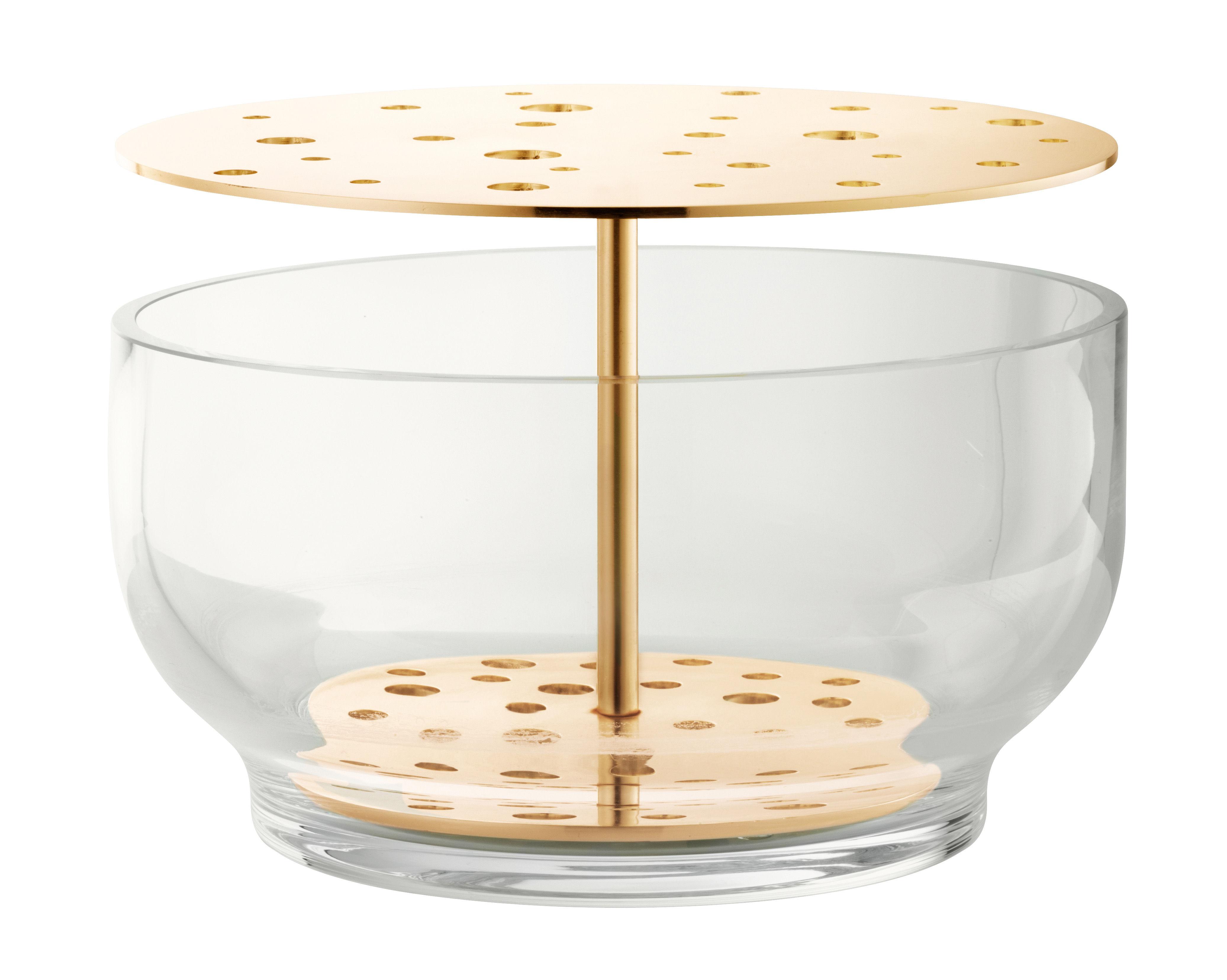 ikebana large messing mundgeblasenes glas h 15 5 cm. Black Bedroom Furniture Sets. Home Design Ideas
