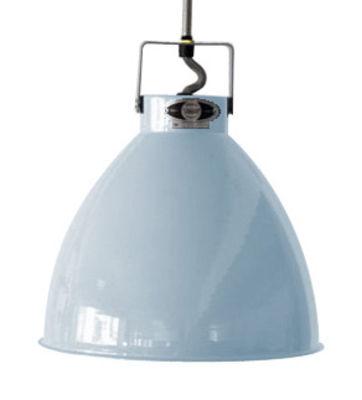 Foto Sospensione Augustin - Medium Ø 24 cm di Jieldé - Blu pastello brillante - Metallo