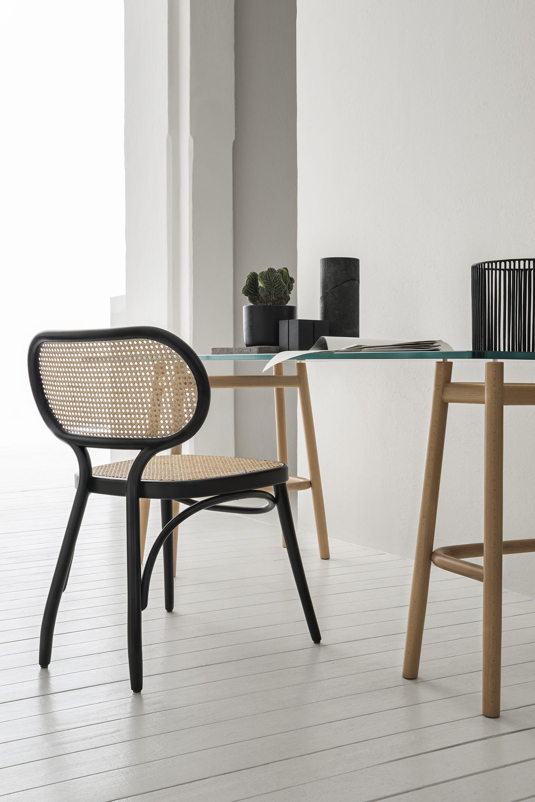 chaise bodystuhl bois cannage blanc paille naturelle wiener gtv design. Black Bedroom Furniture Sets. Home Design Ideas