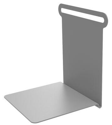 Etagère Knick / Range-livres - L 15 cm - Matière Grise gris en métal