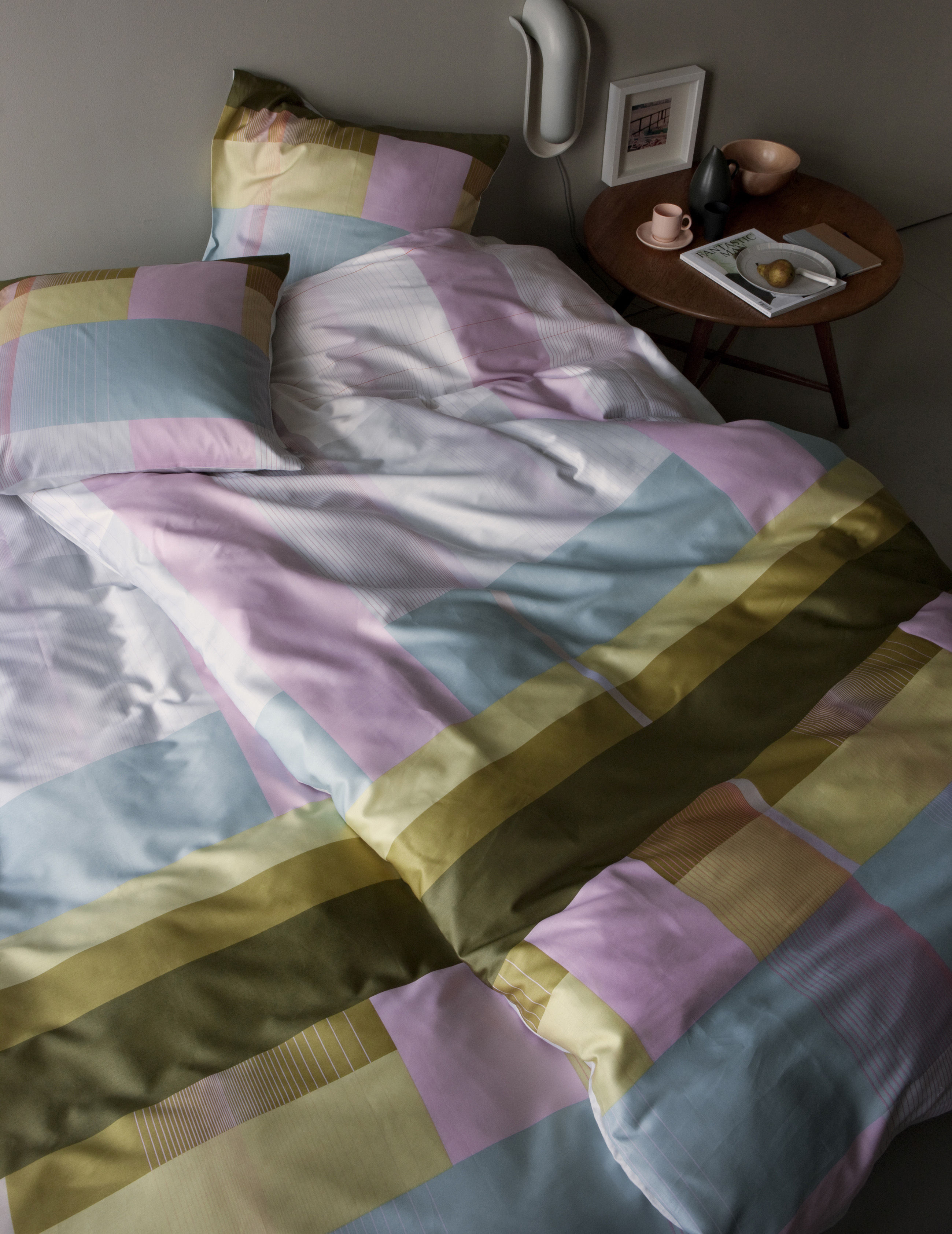 s b colour block f r 2 personen 220 x 240 cm hay bettw sche set f r 2 personen. Black Bedroom Furniture Sets. Home Design Ideas