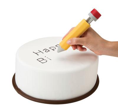 Ustensile Write on cake Crayon seringue pour gâteaux Pa Design multicolore en matière plastique