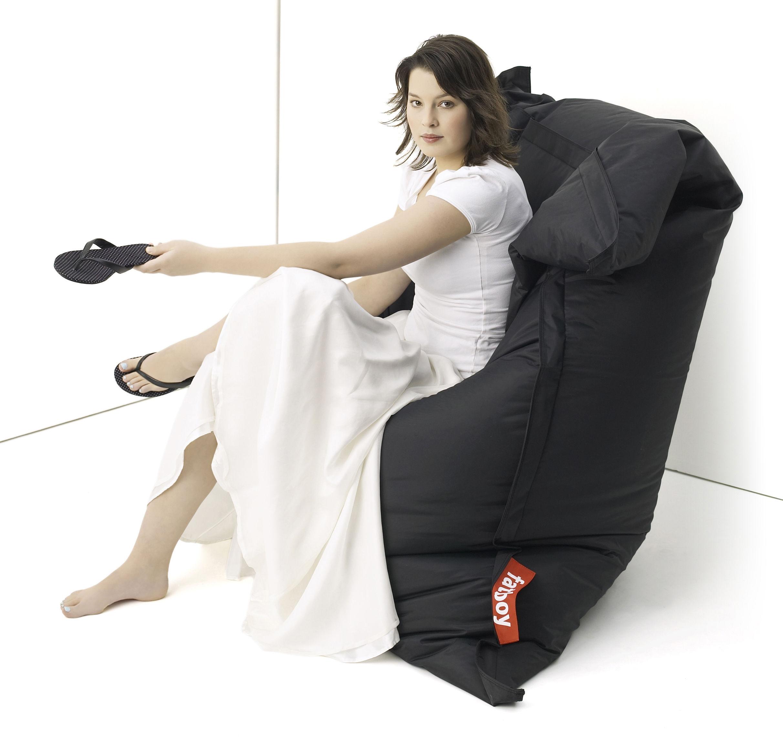 the original pouf black by fatboy. Black Bedroom Furniture Sets. Home Design Ideas