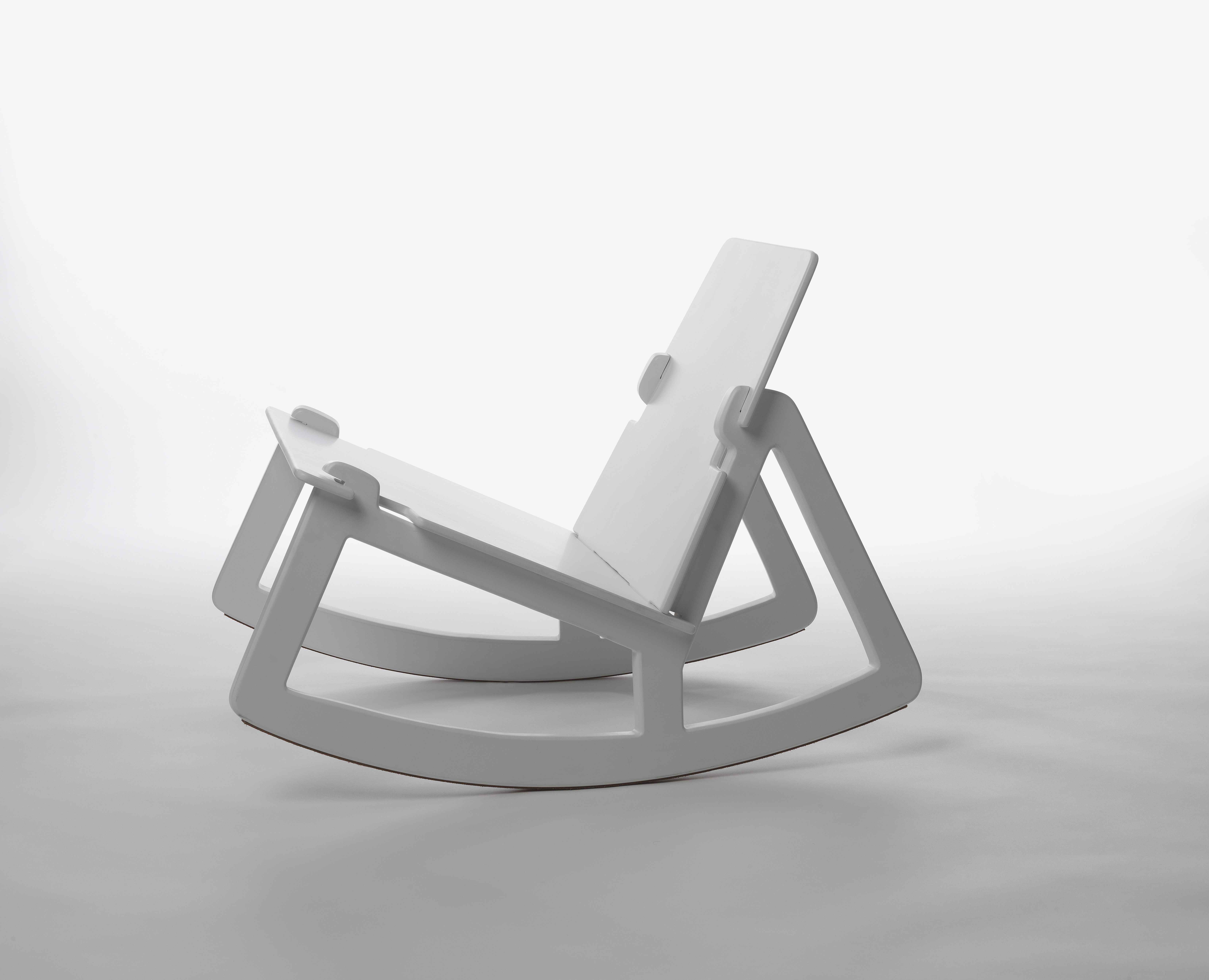 Rock Chair Rocking Chair White By Design House Stockholm