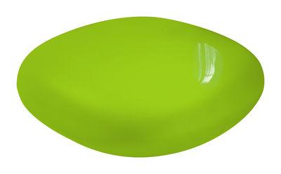 Foto Tavolino Chubby Low - versione laccata di Slide - Laccato verde - Materiale plastico