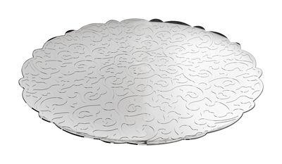 Plateau Dressed / Ø 35 cm - Alessi métal brillant en métal