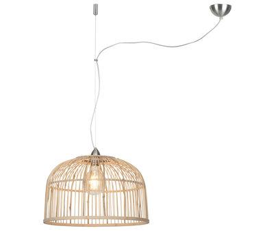 Lighting - Pendant Lighting - Good&Mojo Borneo Small Pendant - / Bamboo - Ø 42 cm by It's about Romi - Ø 42 cm / Bamboo - Bamboo