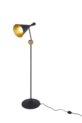 lampadaire beat h 168 cm noir tom dixon. Black Bedroom Furniture Sets. Home Design Ideas