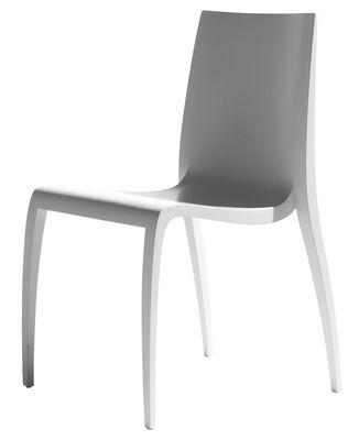 Chaise empilable Ki / Bois - Horm blanc en bois