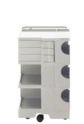 Furniture - Miscellaneous furniture - Boby Trolley - H 73 cm - 3 drawers by B-LINE - White - ABS