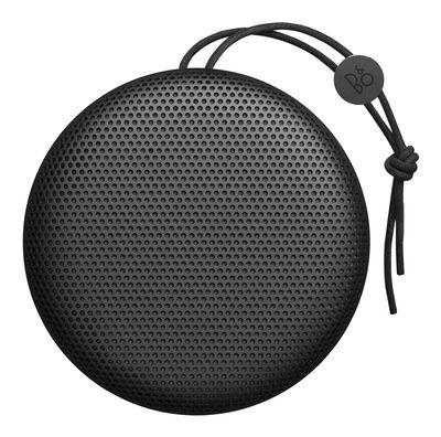 Accessoires - Enceintes audio & son - Enceinte Bluetooth Beoplay A1 / Sans fil - Poignée cuir - B&O PLAY by Bang & Olufsen - Noir / Cordon noir - Aluminium, Cuir
