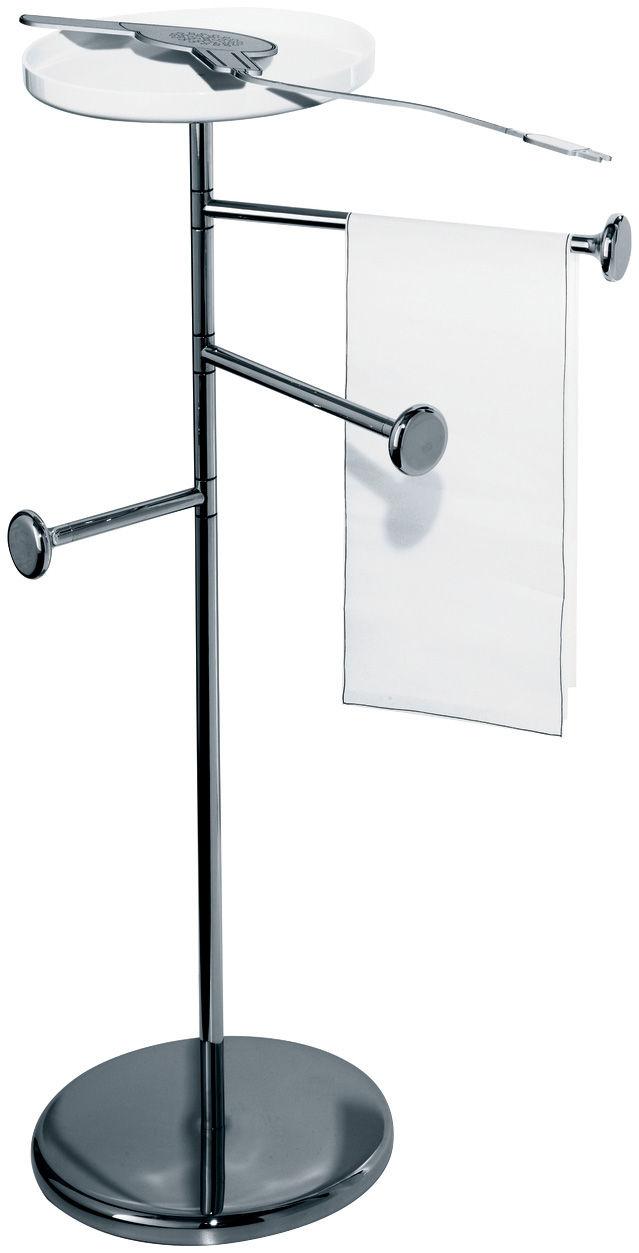 birillo mit ablage alessi handtuchhalter. Black Bedroom Furniture Sets. Home Design Ideas
