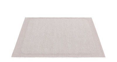 Tapis Pebble Tissé main 170 x 240 cm Muuto rose pâle en tissu