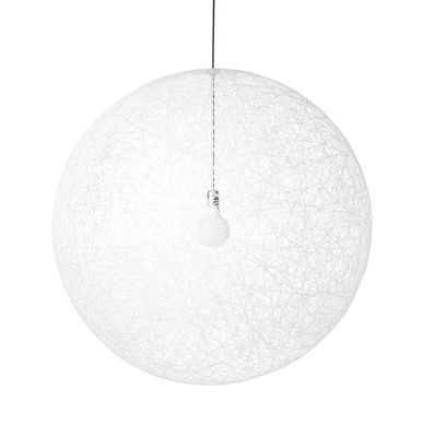 Suspension Random Light LED / Small - Ø 50 cm - Moooi blanc en matière plastique
