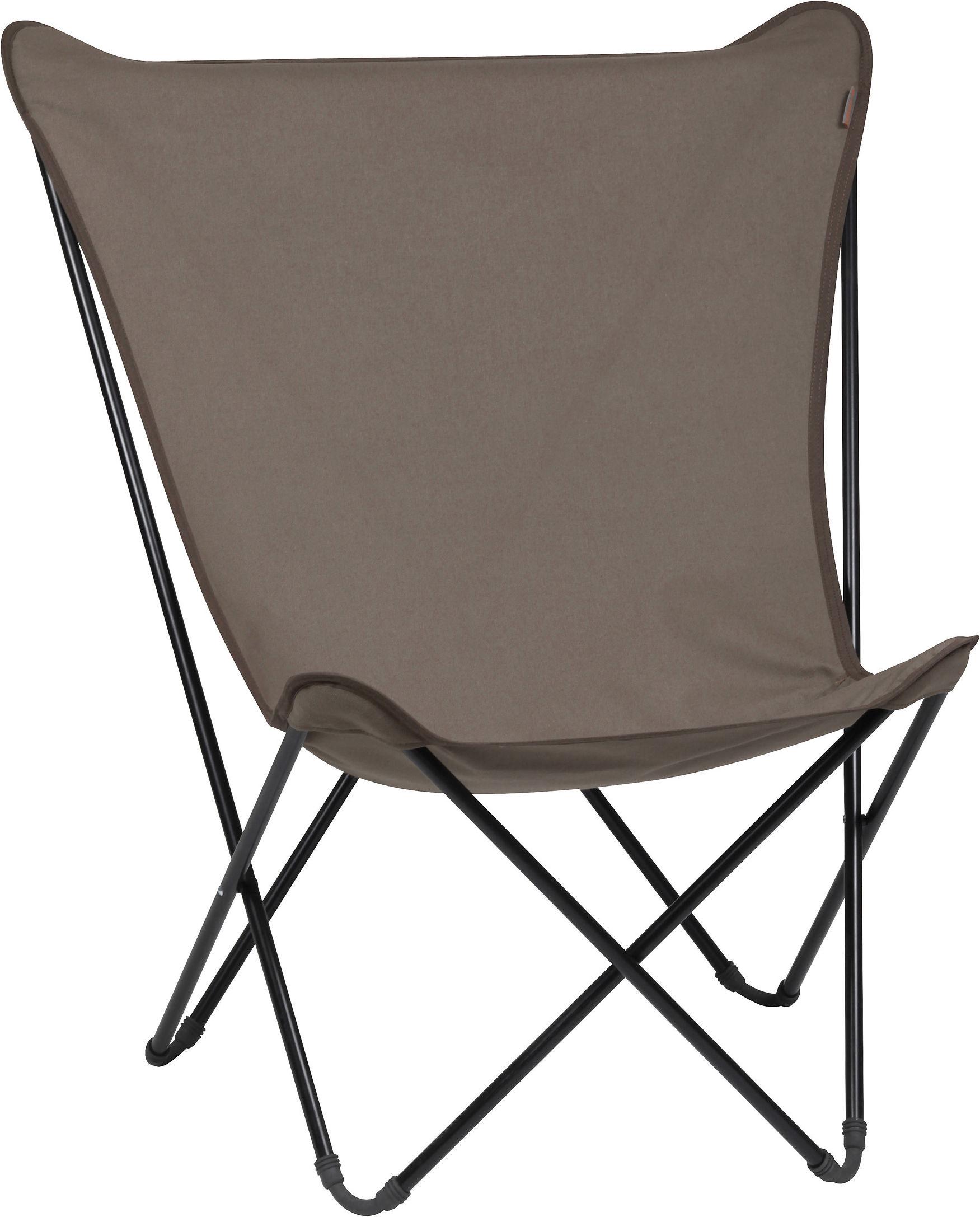 fauteuil maxi pop up pliable gr s structure noire lafuma. Black Bedroom Furniture Sets. Home Design Ideas