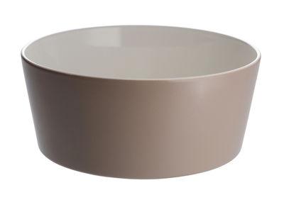 Saladier Tonale Ø 23 cm - Alessi blanc,rouge en céramique