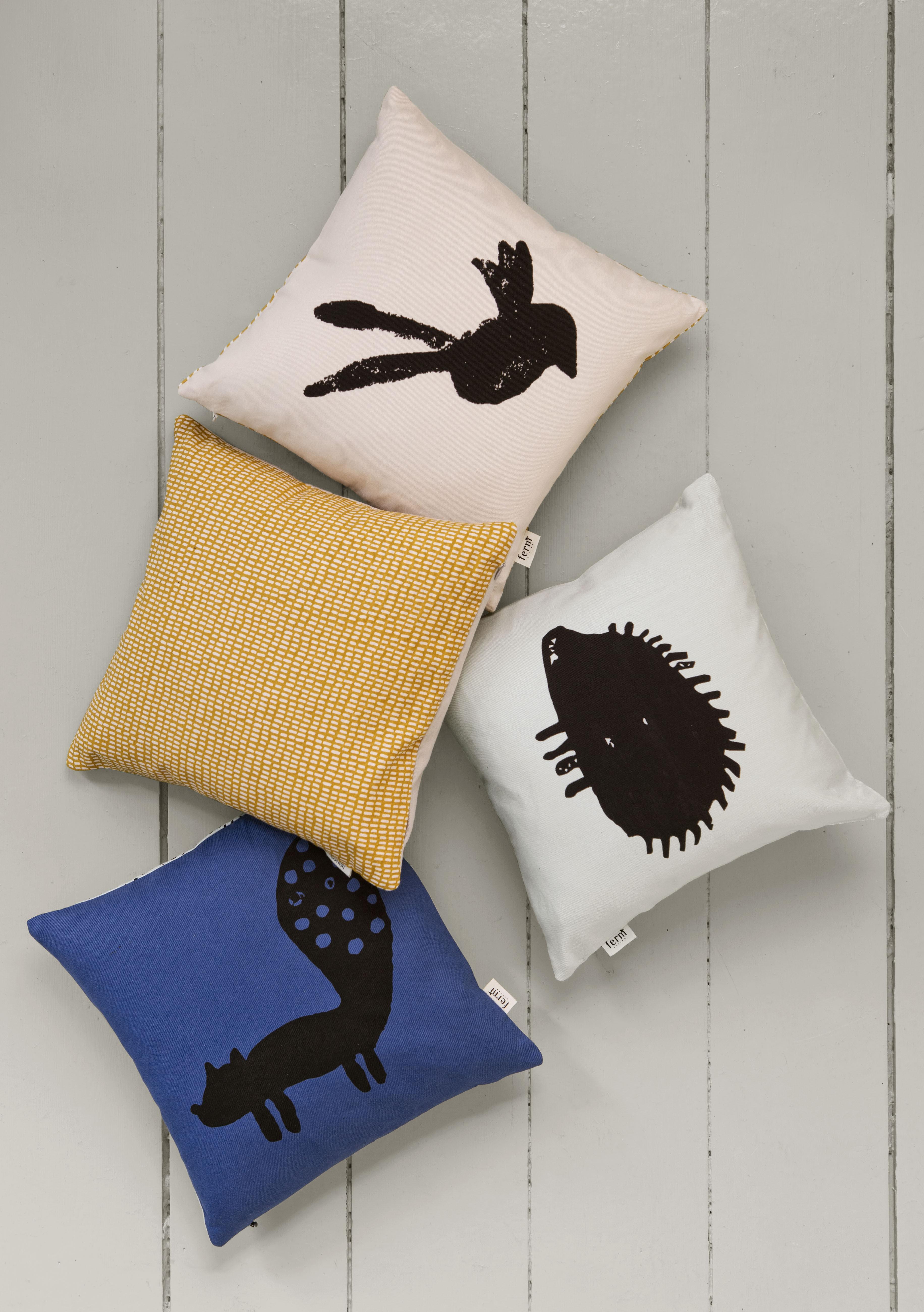 rabbit ferm living kissen. Black Bedroom Furniture Sets. Home Design Ideas