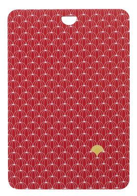 Foto Tagliere Pastèques / 38 x 24 cm - Fermob - Cappuccino - Materiale plastico