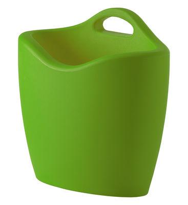Porte-revues Mag - Slide vert en matière plastique