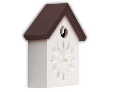 Horloge murale Cu Clock à coucou Modèle d'expo Magis marron en matière plastique