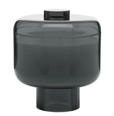 Bougie parfumée Nikko / Kartell Fragrances - H 14 cm - Kartell fumé en matière plastique