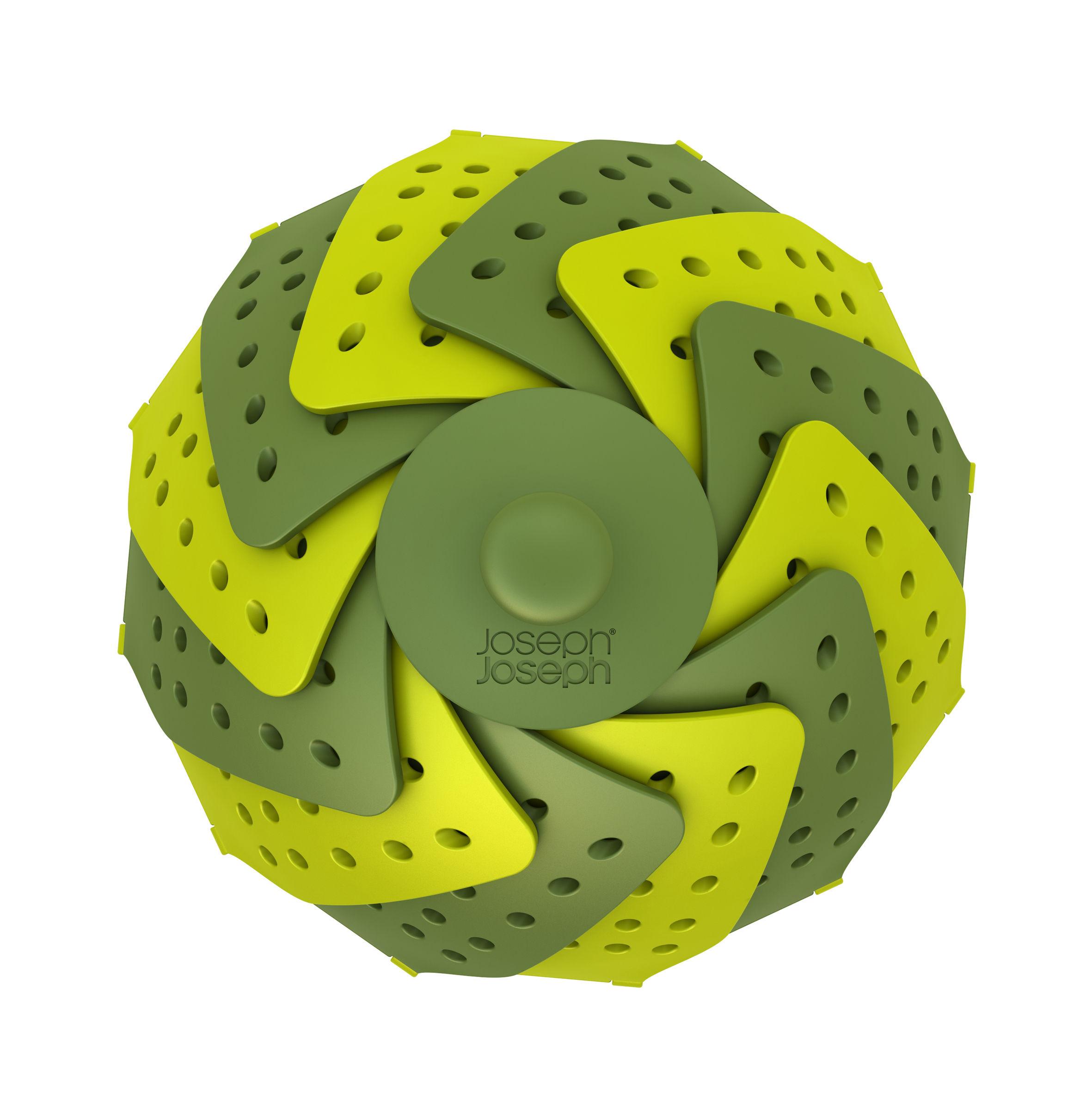 Panier vapeur lotus vert vert clair joseph joseph - Vaporera profesional ...