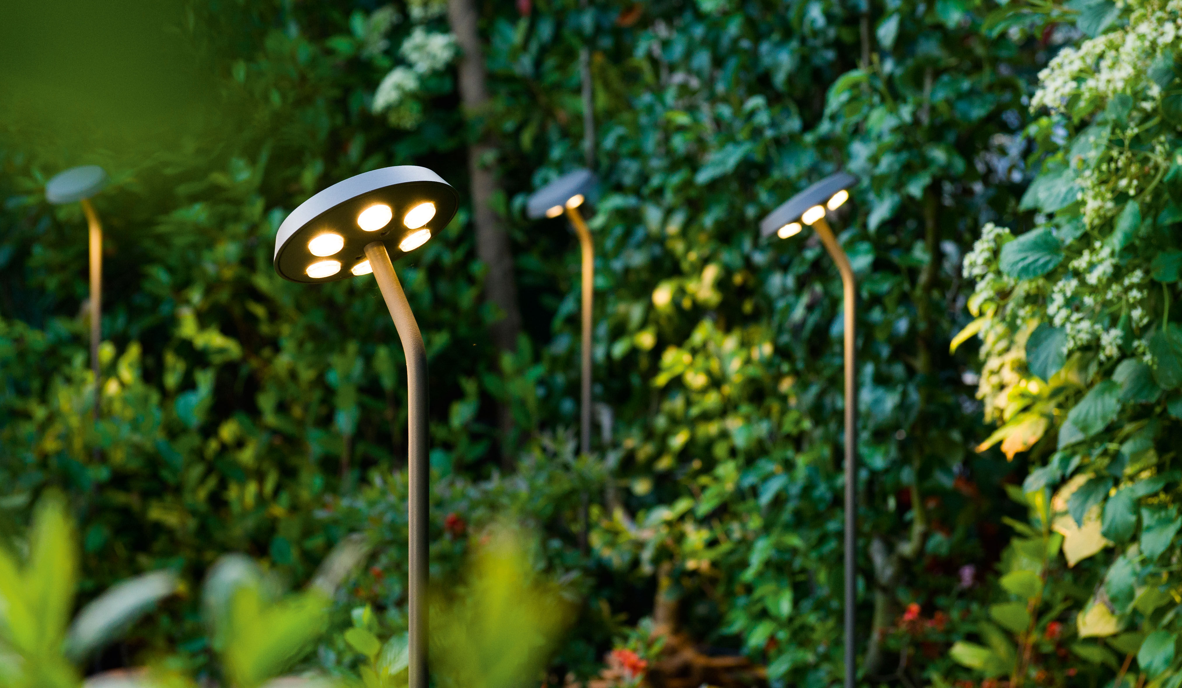 Tournesol LED Floor lamp Grey brown by Delta Light