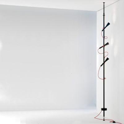 lampadaire 5 spots