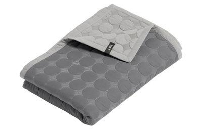 Plaid Baby Dot / 175 x 125 cm - Hay gris clair,gris foncé en tissu