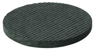 Dessous de plat Dessous de plat Groove Ø21,6 - Muuto vert en pierre