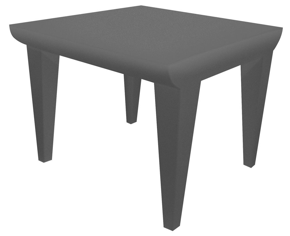 table basse bubble club 51 x 51 cm gris clair kartell. Black Bedroom Furniture Sets. Home Design Ideas