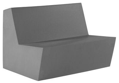 Foto Divano destro Primary Duo - 2 posti di Quinze & Milan - Antracite - Materiale plastico