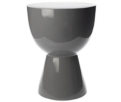 Sgabello Tam tam - / Tavolino d'appoggio di Pols Potten - Grigio - Materiale plastico