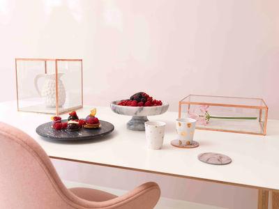 Coupe fruits marble centre de table marbre marbre for Nettoyer une table en marbre