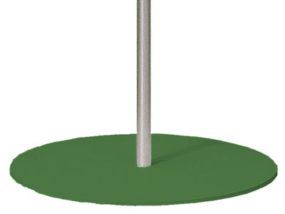 Outdoor - Parasols - Parasol base - For the Frou Frou parasol by Sywawa - Green base - Lacquered steel